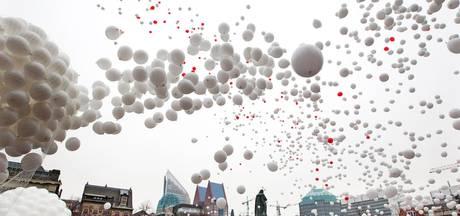 Den Haag verbiedt oplaten ballonnen bij eigen evenementen