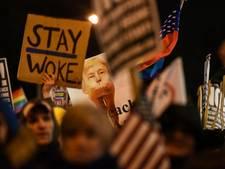 Bezorgde New Yorkers bijeen om Trump