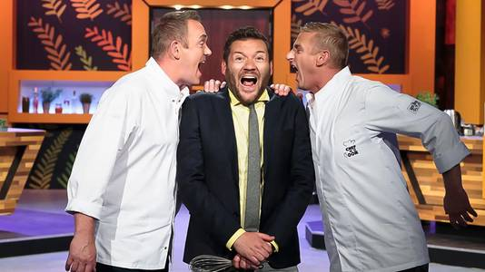 Klaas van der Eerden, bekend van de NPO3-show Chef in je Oor