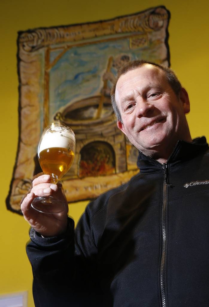 Steve Gammage van Bronckhorster Brewing Company.