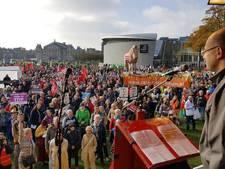 Duizenden mensen bij actie tegen TTIP en CETA