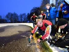 Hoop op Noordlaren, geen marathon op natuurijs in Arnhem en Haaksbergen
