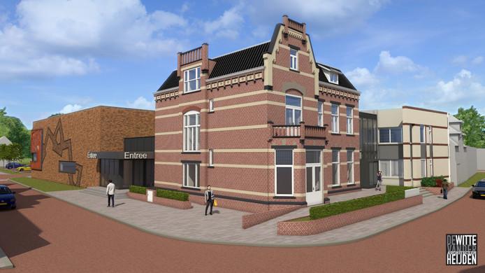Cultureel centrum De Mattelier in Groenlo, in combinatie met de voormalige villa van Hameland.