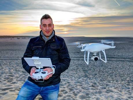 Dronefanaat bekijkt de wereld liefst van boven