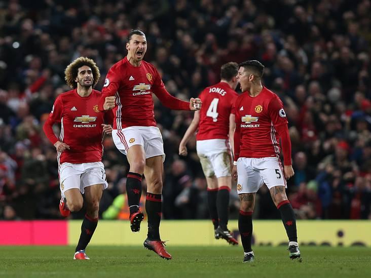 VIDEO: Zlatan redt punt voor United in matige klassieker tegen Liverpool