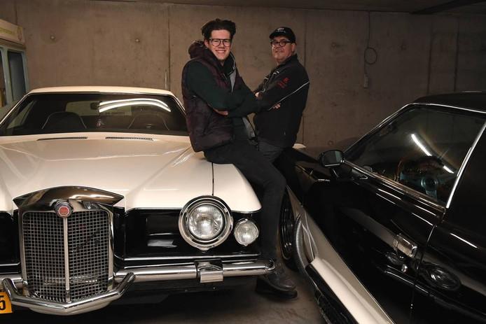 Vader en zoon Hermans. Foto: Ed van Alem