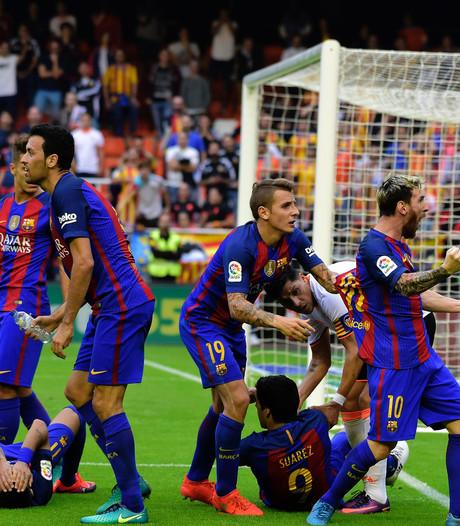 Barça wil competitiebaas aanklagen na incident bij Valencia