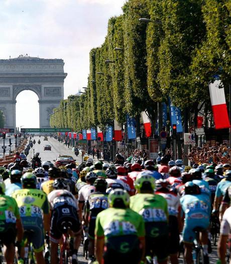 Recordaantal wielrenners haalt Parijs
