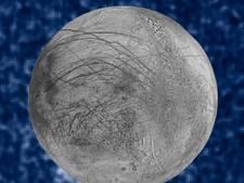 Astronomen zien 'waterdamp' op Jupiters maan Europa