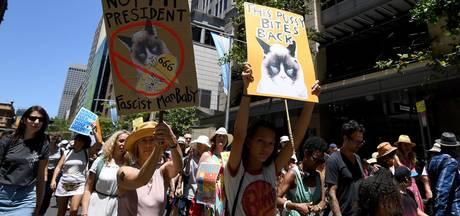 Sterren lopen mee in Women's March