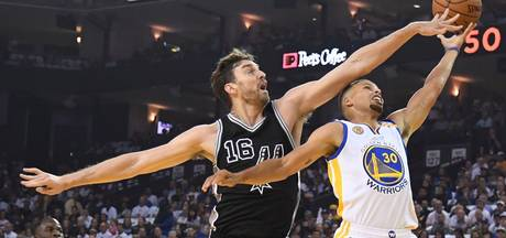 Spurs verrassen Warriors op openingsdag NBA