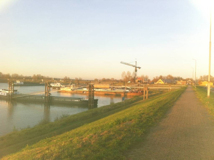 Uitzicht op de haven in Tuindorp.