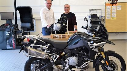 """BMW schenkt motorblokken aan Vives: """"Motorfietstechnicus is knelpuntberoep"""""""