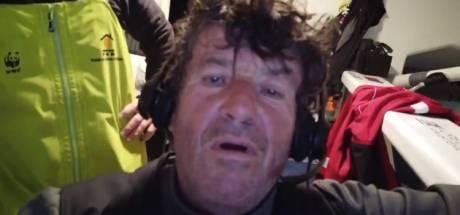 Après 11h sur son radeau de survie, le skipper Kevin Escoffier secouru sain et sauf par Jean Le Cam