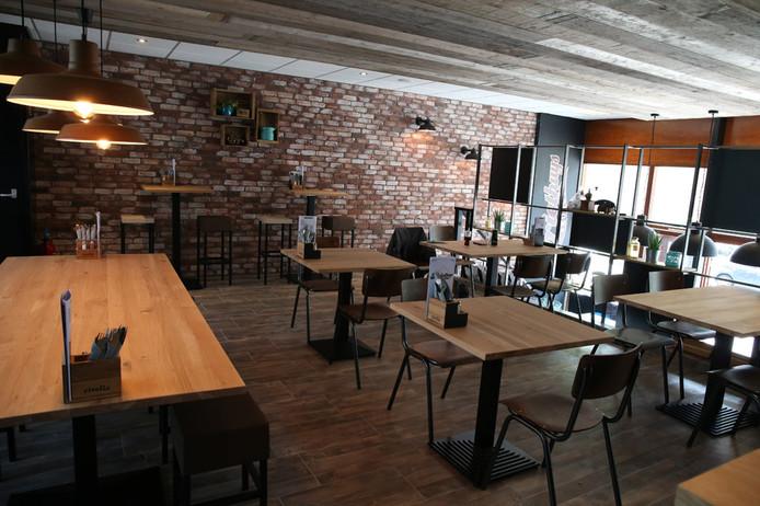 Restaurantdeel van Friethuys Kobus