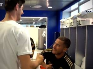 La rentrée des classes du Real: Eden Hazard prend ses marques et retrouve Thibaut Courtois