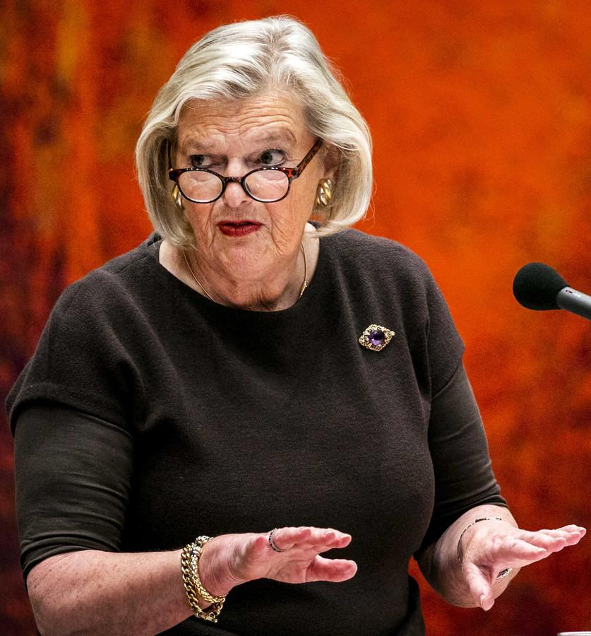 Eerste Kamerlid Ankie Broekers-Knol.