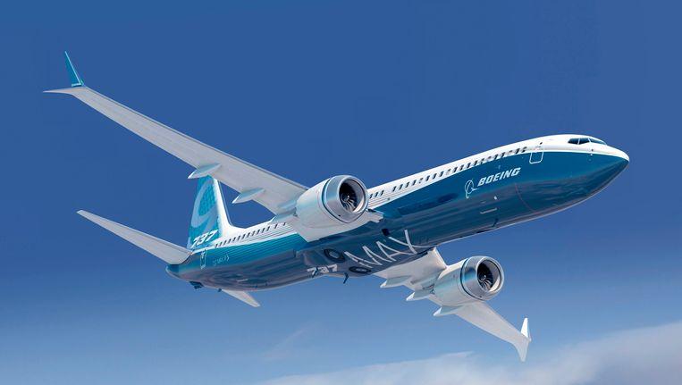 De nieuwe troef van Boeing, de 737 MAX 9. Beeld Reuters