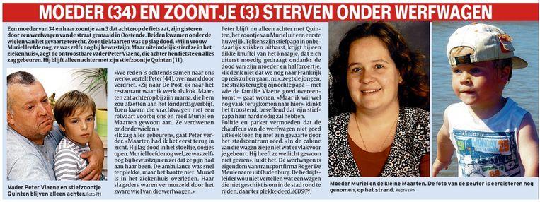 In juli 2008 kwamen de 34-jarige Muriël De Conynck en haar 3-jarige zoontje Maarten Viaene om het leven op het kruispunt. Ook toen al smeekten de inwoners om een tunnel.