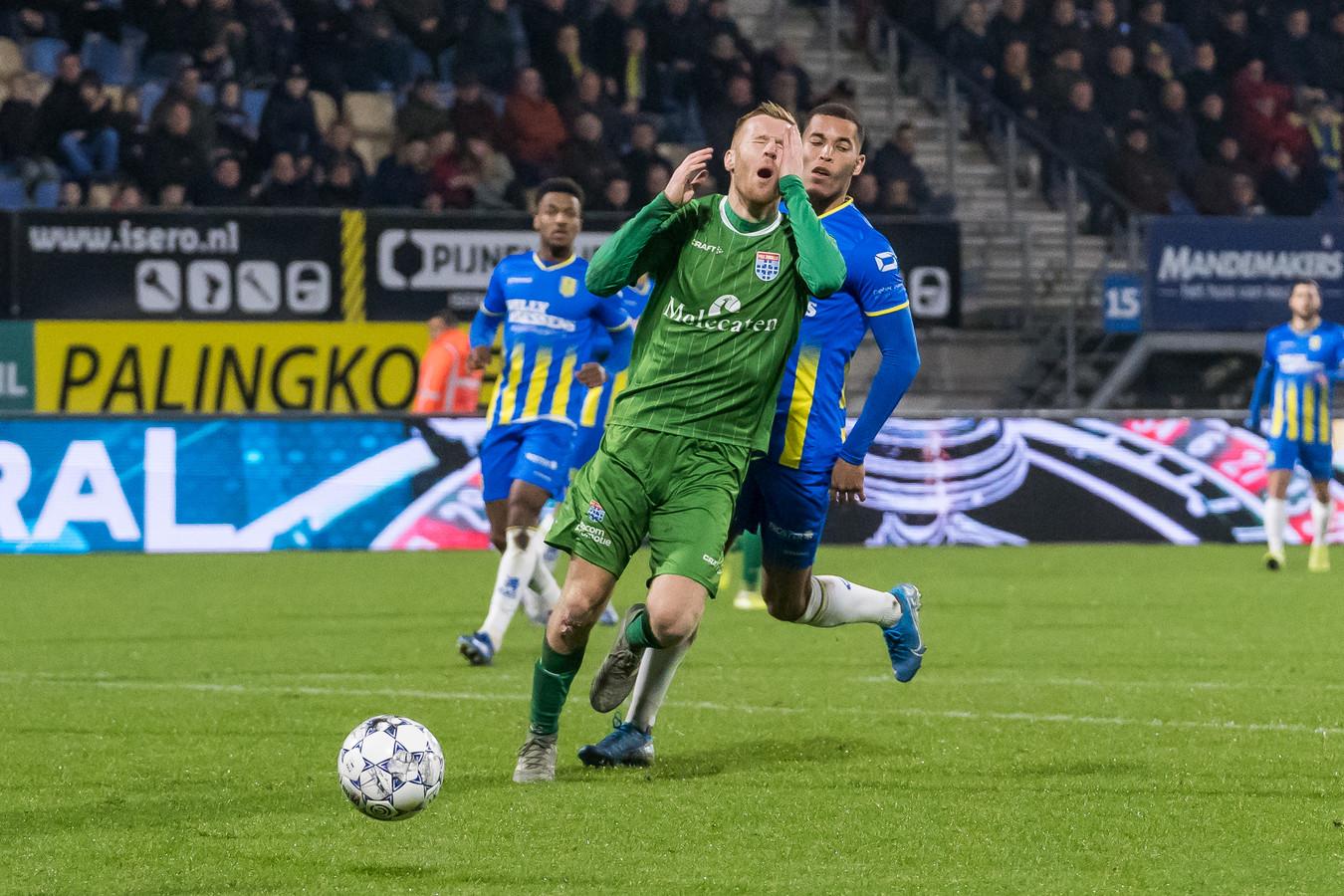 RKC Waalwijk tegen PEC Zwolle eindigde vorig seizoen in 0-0. Ook Mike van Duinen kon daar weinig aan veranderen.