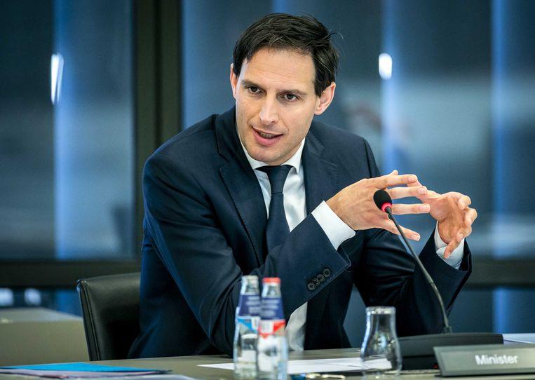Minister Wopke Hoekstra van Financiën. Beeld ANP