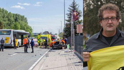 """Jos François (61) aan de beterhand na ongeval op N8 in Pamel: """"Ik heb geluk gehad"""""""