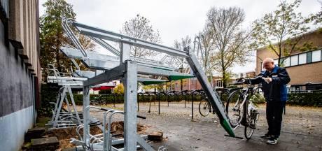 Deventer fietser kiest nieuw rek voor uitbreiding stalling