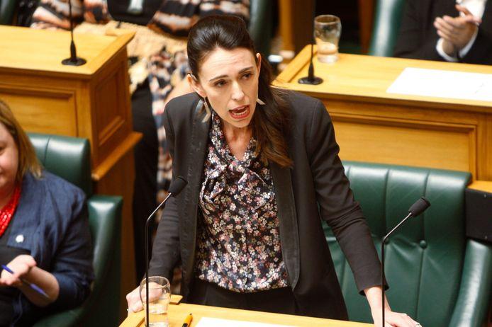 De Nieuw-Zeelandse premier Jacinda Ardern