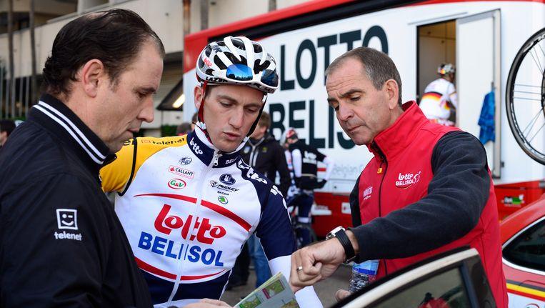Met Bart Leysen en Jurgen Van Den Broeck in 2013.