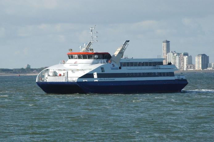 Veerboot tussen Vlissingen en Breskens.