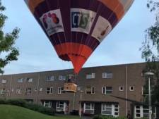 Luchtballon-piloot over niet geplande landing: 'We weten echt wel wat we doen'