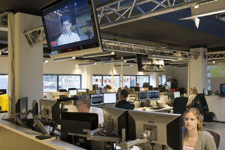 De redactieruimte van het ANP (ANP) Beeld
