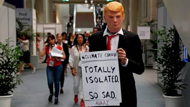 Trump ziet klimaatverandering niet langer als iets dat Verenigde Staten bedreigt