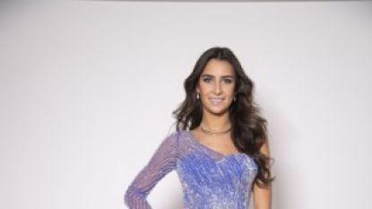 Miss België trekt vanavond ten strijde in Miss World met een zes kilogram zware jurk