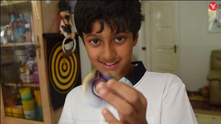 """Wat Arnav wil gaan studeren? """"Wellicht iets met wiskunde, iets waarmee ik de wereld kan verbeteren, maar ik weet nog niet hoe."""""""