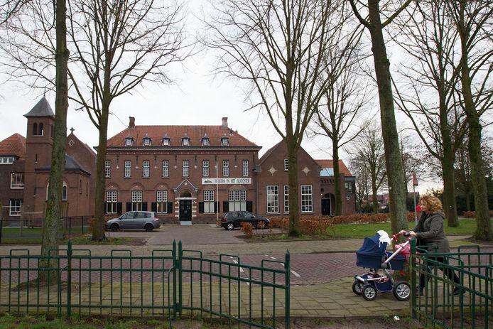 Het monumentale dorpshuis Het Klooster in Waalre-dorp.