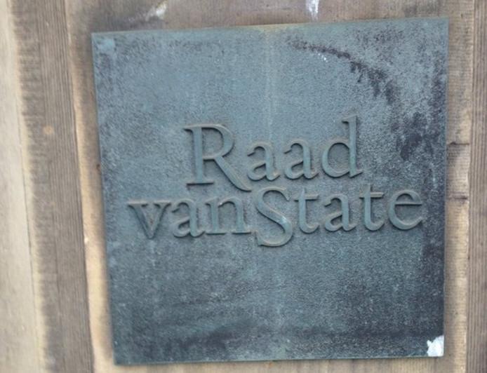 De Raad van State aan de Kneuterdijk in Den Haag.
