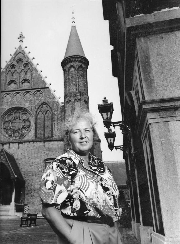 Machteld Versnel-Schmitz (1940-2019)  Beeld