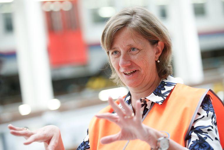 Sophie Dutordoir: CEO van de NMBS na zoektocht door headhunter.