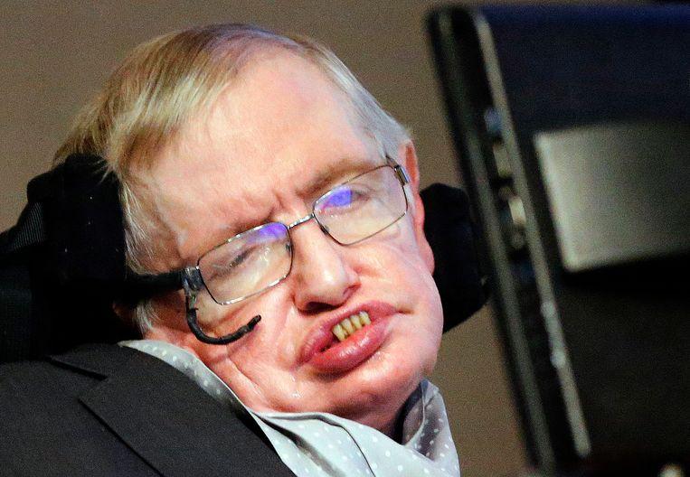 Wijlen professor Stephen Hawking in 2015.