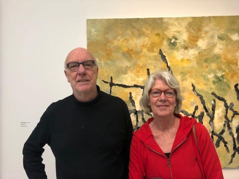 Rik Kamst (68) en Thea Dijkstra (66). Beeld