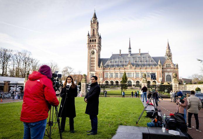 Ter illustratie: het Vredespaleis in Den Haag.