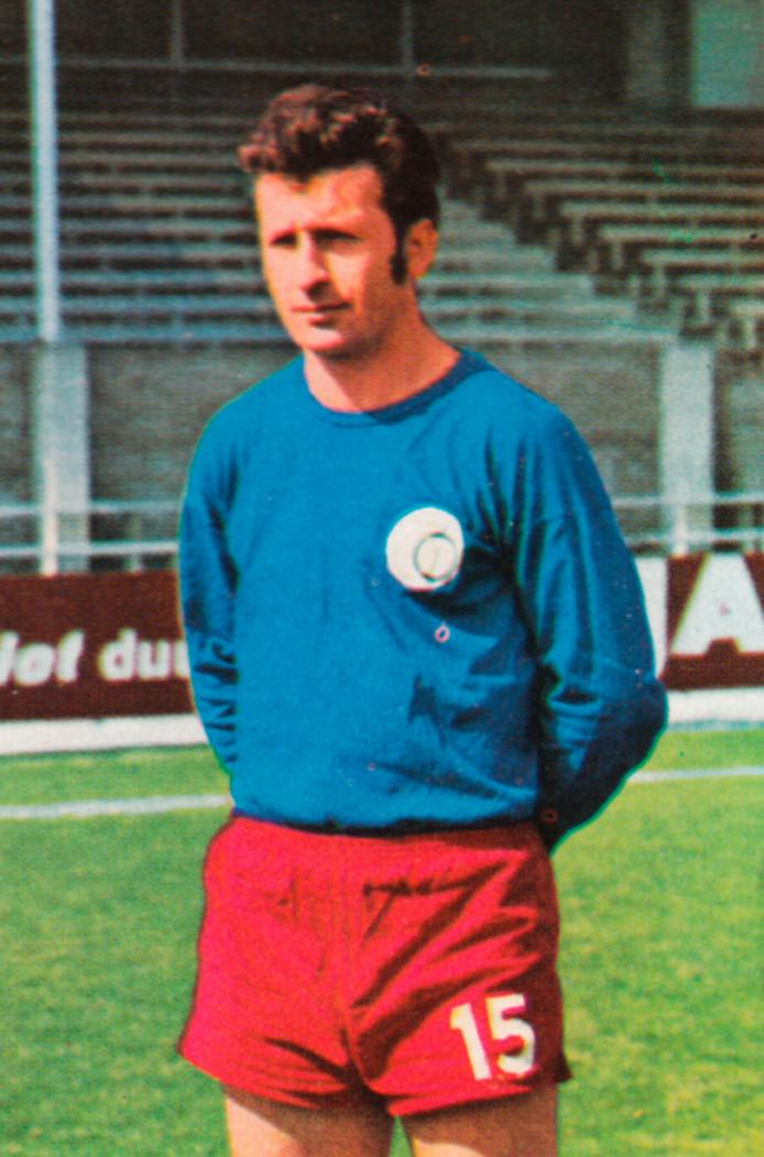 Norbert Pogrzeba, een van de Poolse 'bevrijders' in 1969.