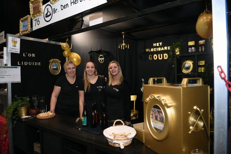 Den Herberg kreeg de prijs voor de mooiste stand van het bierfestival.