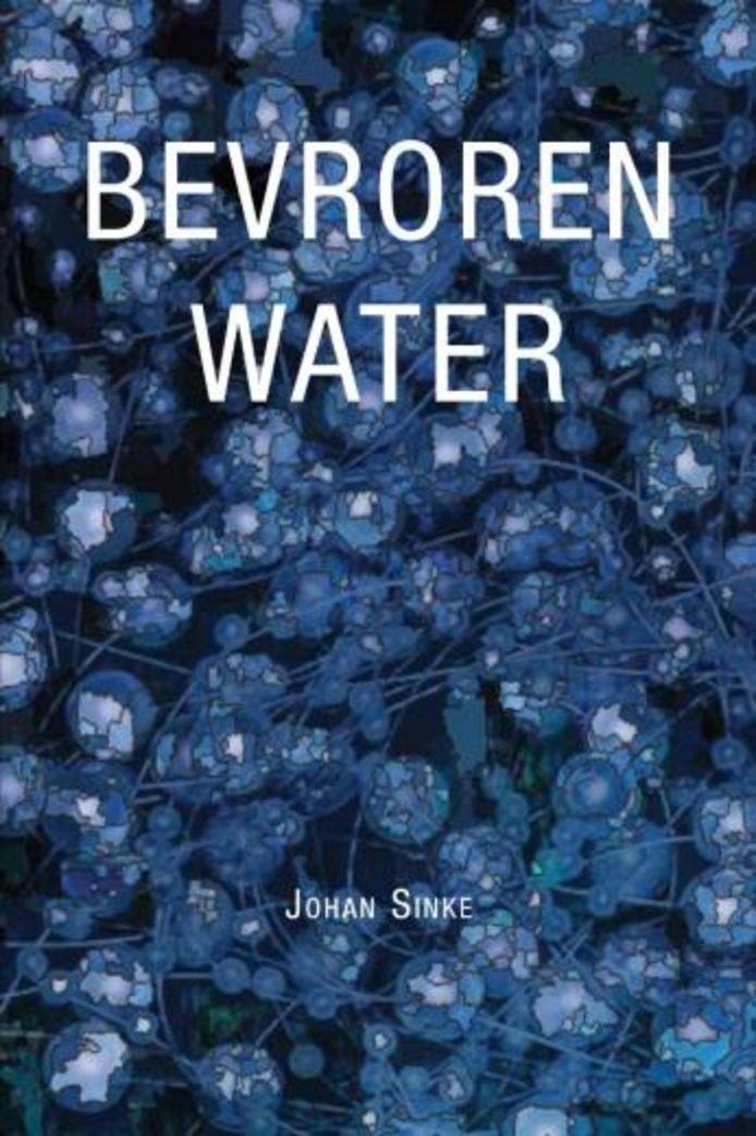 cover Bevroren Water - Johan Sinke