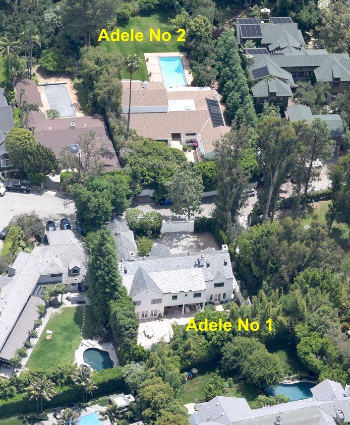 Les stars vivent lovées les unes contre les autres dans une vallée très select où Adele est l'une des plus riches propriétaires, après Katy Perry