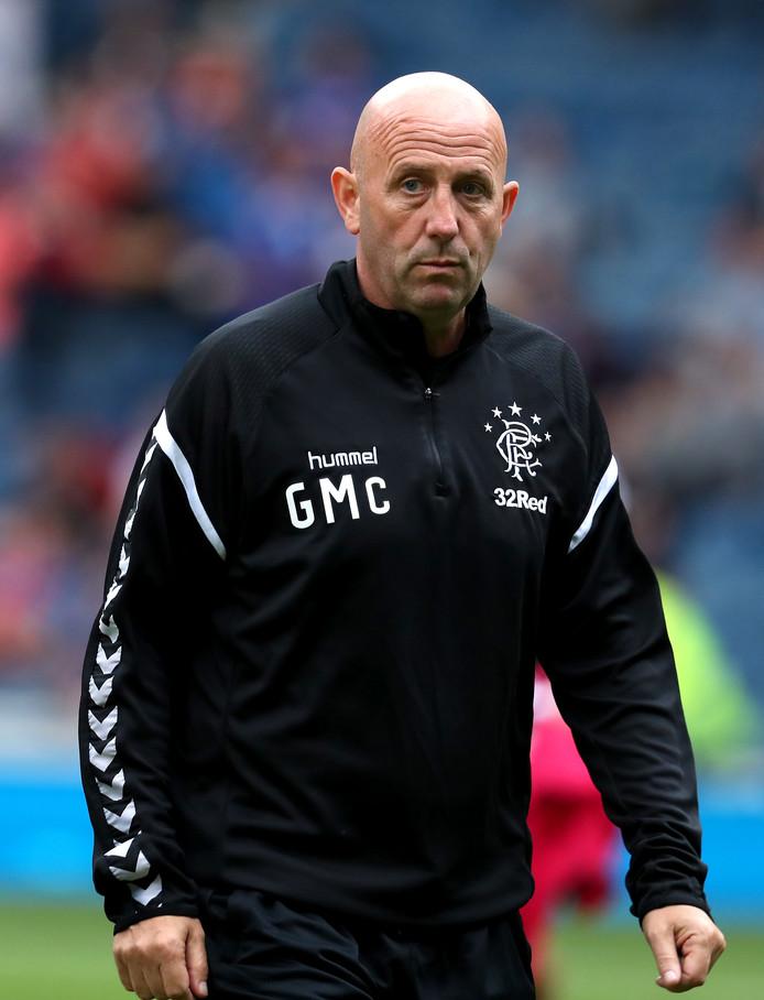 Gary McAllister is assistent van Steven Gerrard bij Rangers.