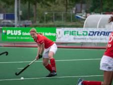 Hockeysters Wageningen stijgen met stip