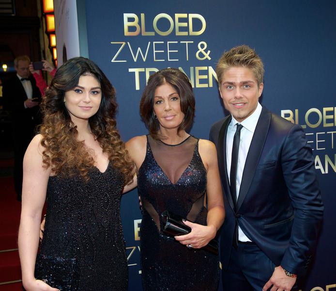 Roxeanne, Rachel en André Hazes