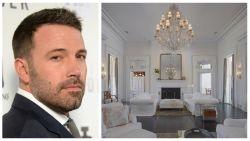 IN BEELD. Ben Affleck verkoopt imposant landgoed voor 7,6 miljoen euro